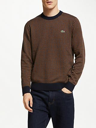 c4d5523f5 Lacoste Houndstooth Jumper