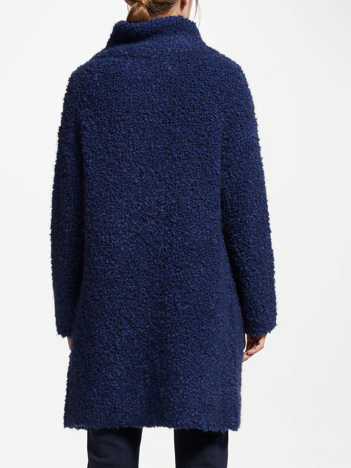 Buy Gerry Weber Boucle Coatigan, Blue, 10 Online at johnlewis.com