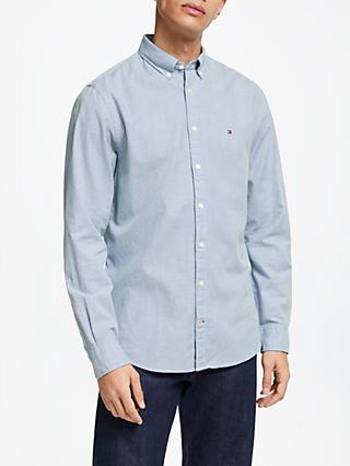 72283fc5f0ec16 tommy hilfiger shirt blue xlarge bloc vintage clothing 50% off 91ac1 ...