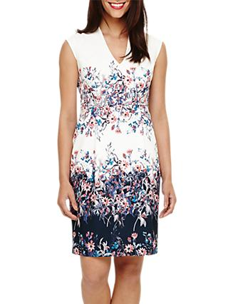 Phase Eight Dina Floral Tailored Dress, Multi