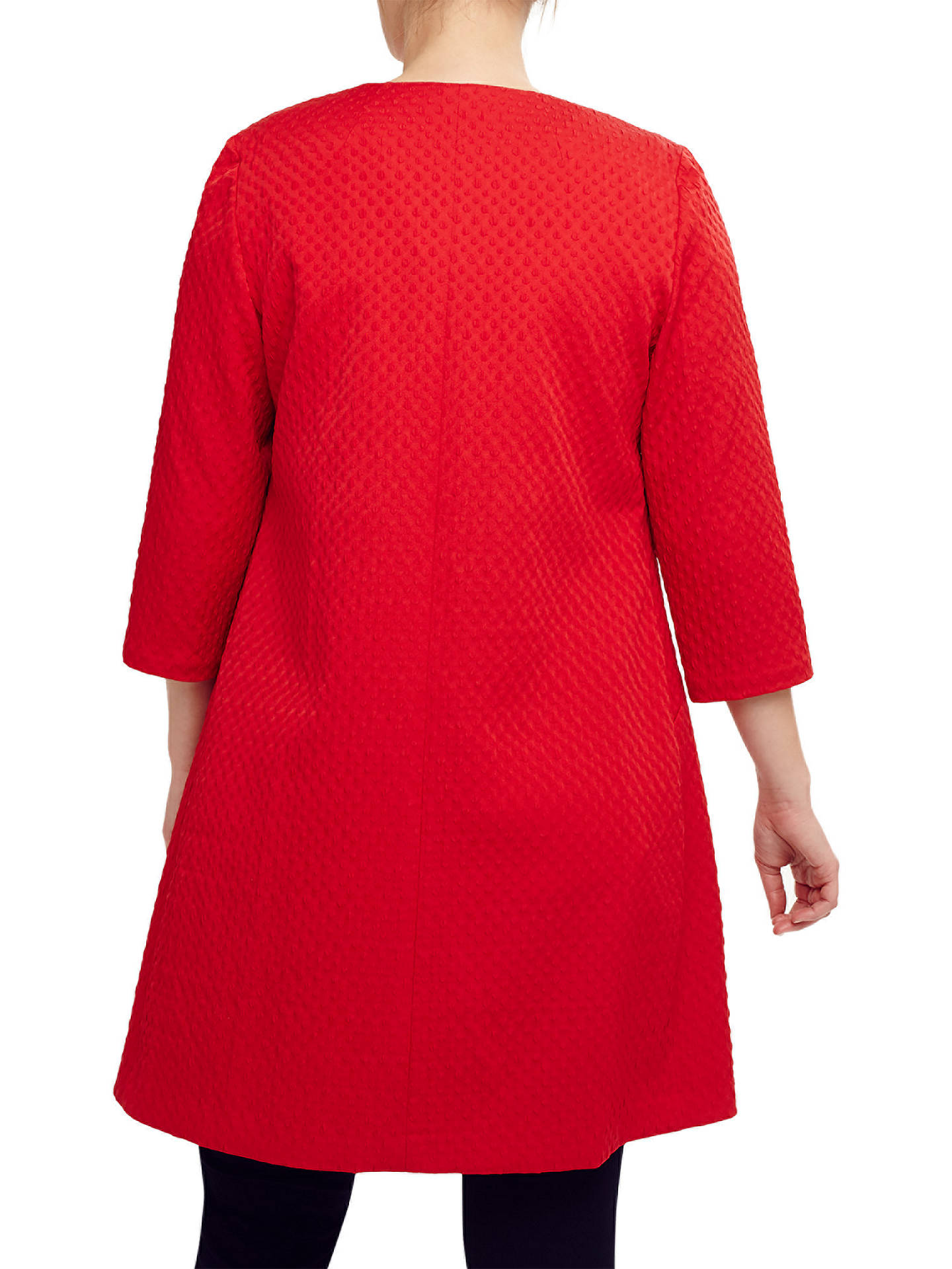 Buy Studio 8 Isla Jacquard Jacket, Red, 16 Online at johnlewis.com