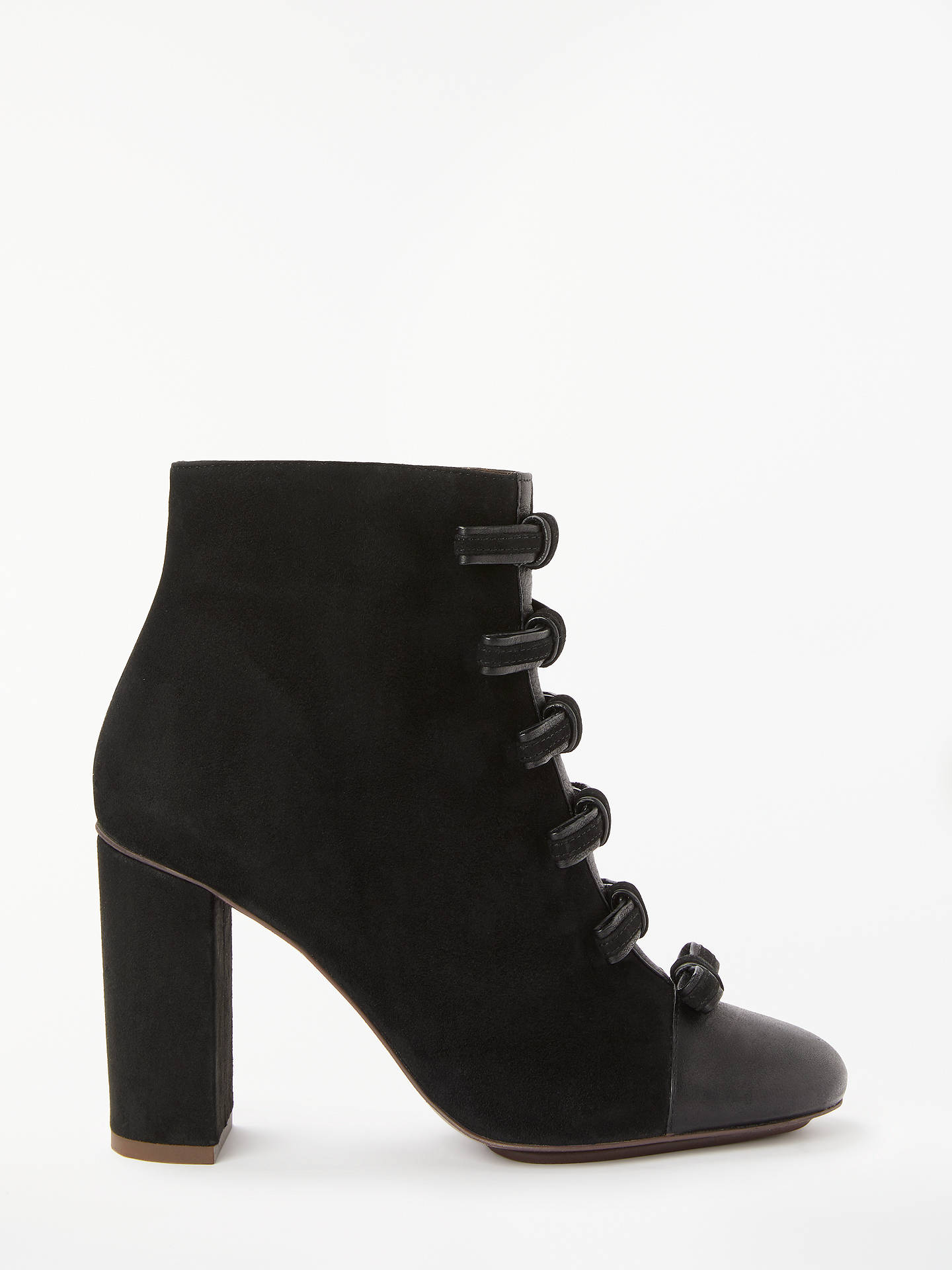 101c01c0c057d Buy See By Chloé Bow Front Block Heel Ankle Boots