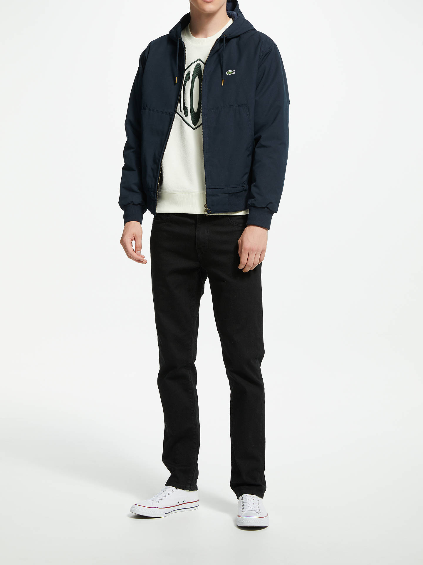 1e946f7bf ... Buy Lacoste Lightweight Hooded Bomber Jacket