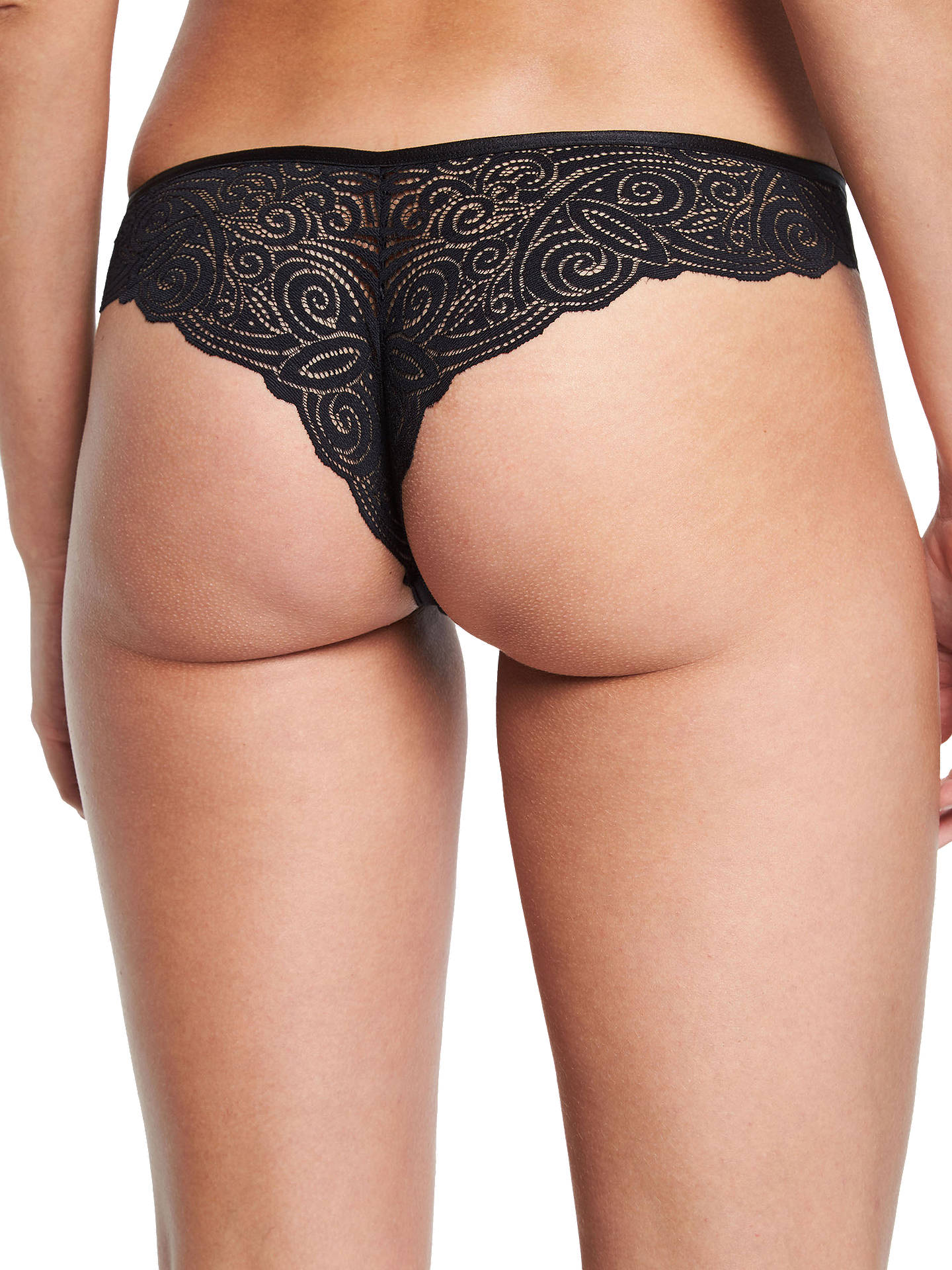 BuyChantelle Pyramide Briefs, Black, M Online at johnlewis.com
