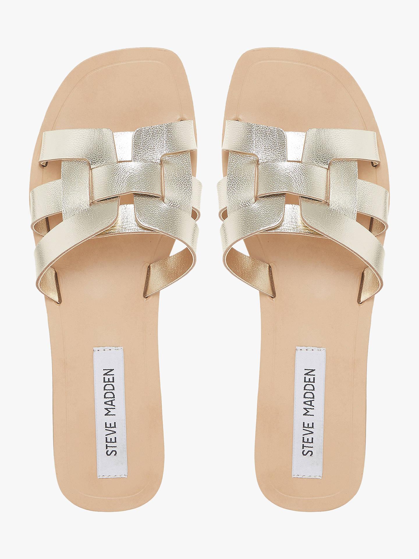 8509c3e16e2 Steve Madden Sicily Flat Sandals at John Lewis   Partners