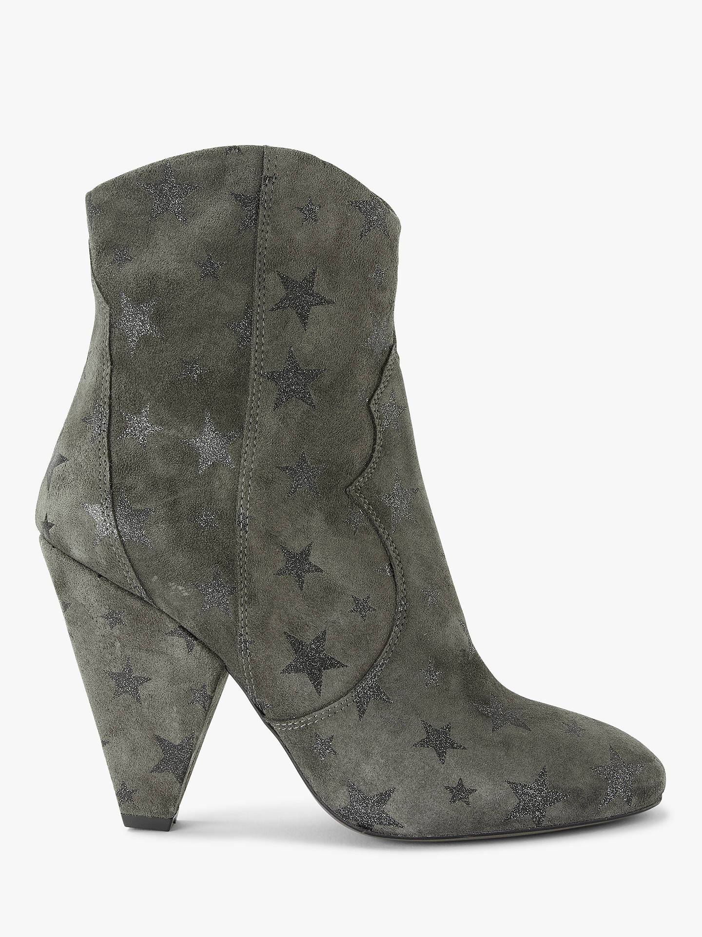 243adf29f5bce Buy AND OR Omorose Glitter Star Detail Cone Heel Boots