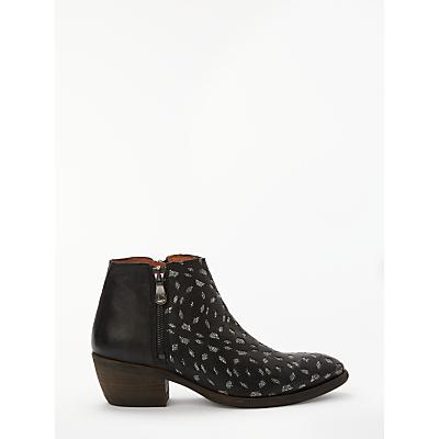 Kanna Borba Western Ankle Boots