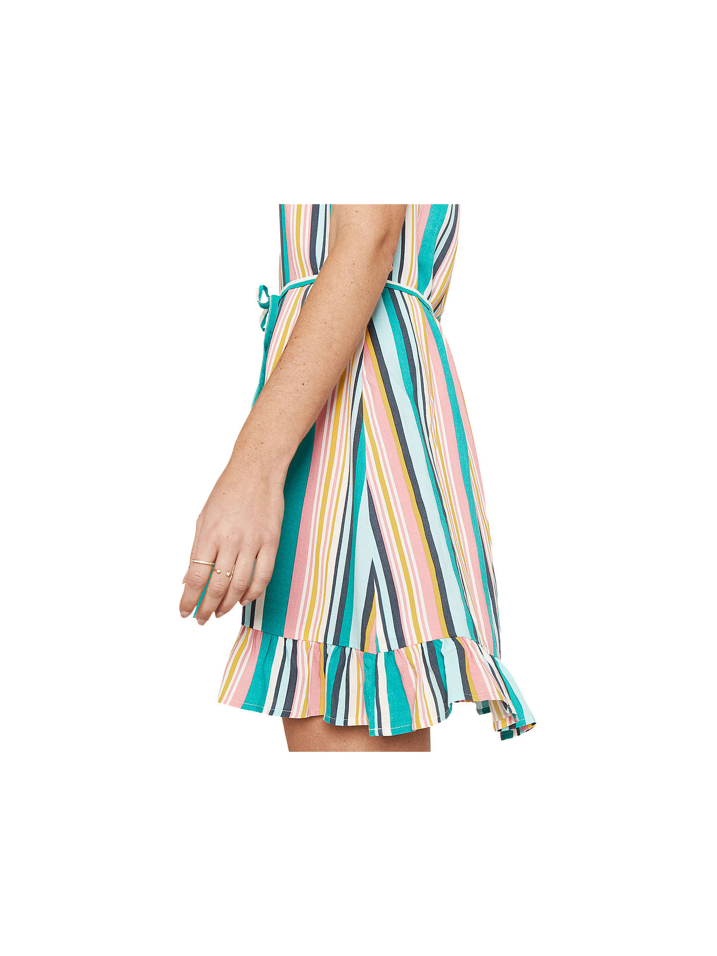 release info on details for cheapest price Oasis Stripe Sundress, Multi at John Lewis & Partners