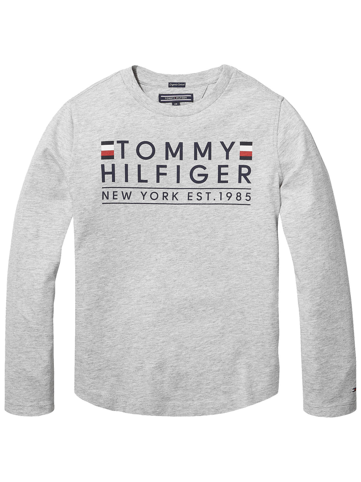 308ce288 Buy Tommy Hilfiger Boys' Graphic Print T-Shirt, Grey, 8 years Online ...
