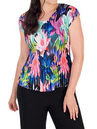 Buy Chesca Pleated Top, Multi, 12-14 Online at johnlewis.com
