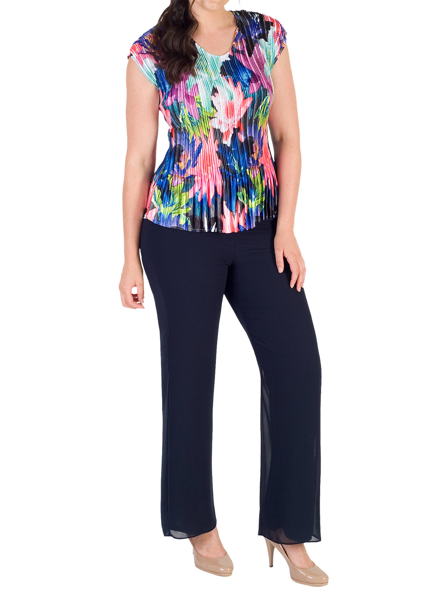 BuyChesca Pleated Top, Multi, 12-14 Online at johnlewis.com