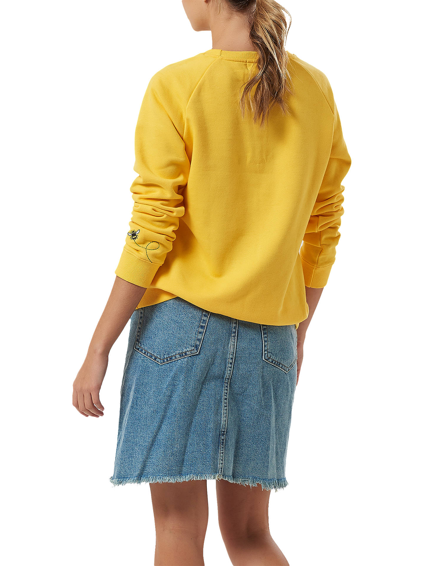 BuySugarhill Brighton Laurie Sweatshirt, Yellow, 8 Online at johnlewis.com