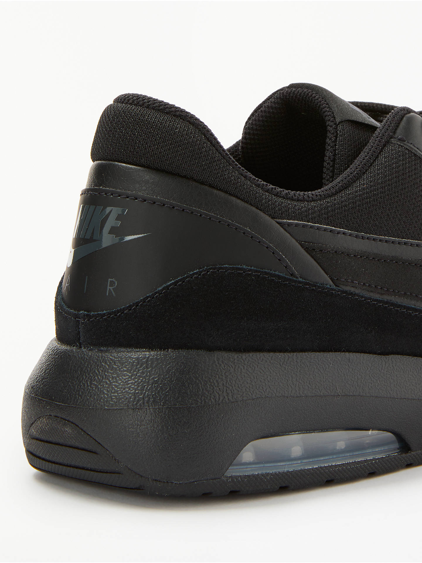 new styles e52b6 cb668 ... Buy Nike Air Max Nostalgic Men's Trainers, Black, 7 Online at  johnlewis. ...