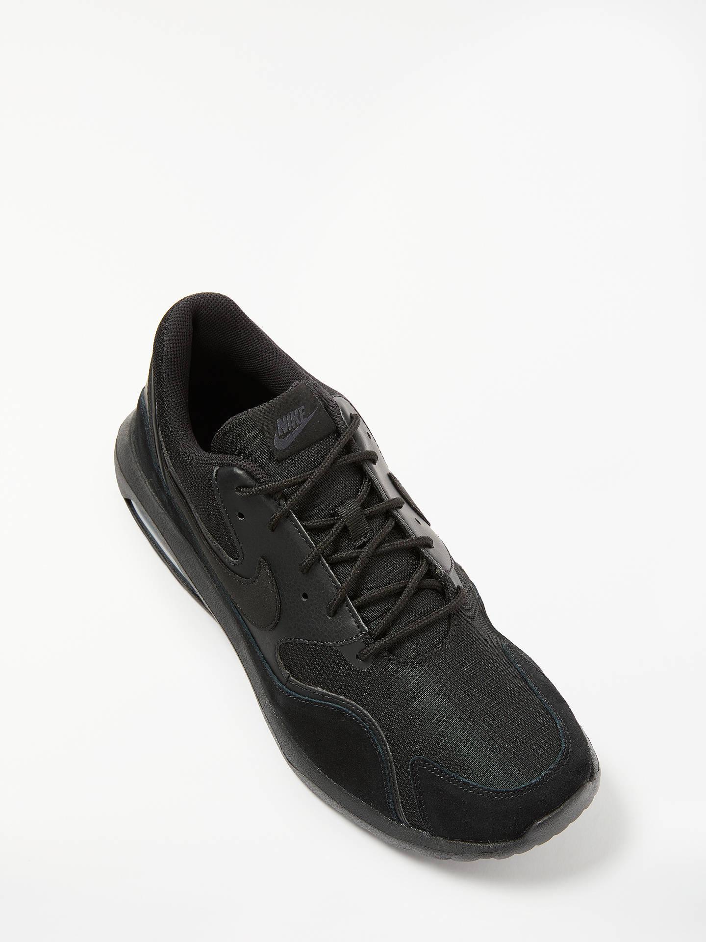 big sale 0e265 91caf ... Buy Nike Air Max Nostalgic Men s Trainers, Black, 7 Online at johnlewis.  ...