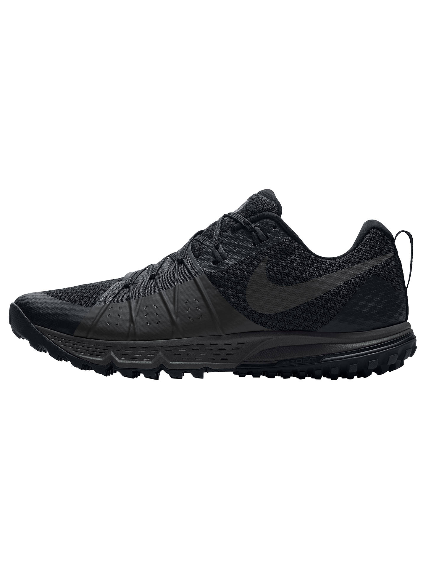 Nike Air Zoom Wildhorse 4 Uomo In Anthracite esecuzione scarpe, Nero Anthracite In at   335373