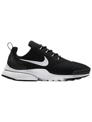 Nike Presto Fly Men's Trainers, Black/White
