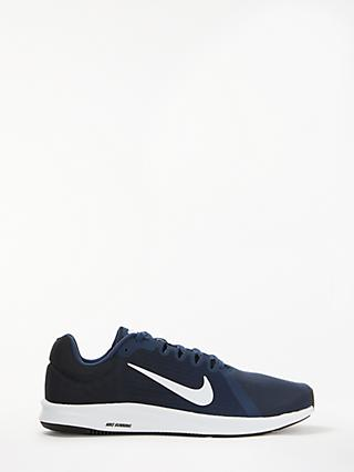 Nike Downshifter 8 Men's Running Shoes, Midnight Navy/White/Black
