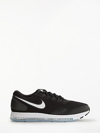 Nike Zoom All Out Low 2 Men's Running Shoes, Black/White
