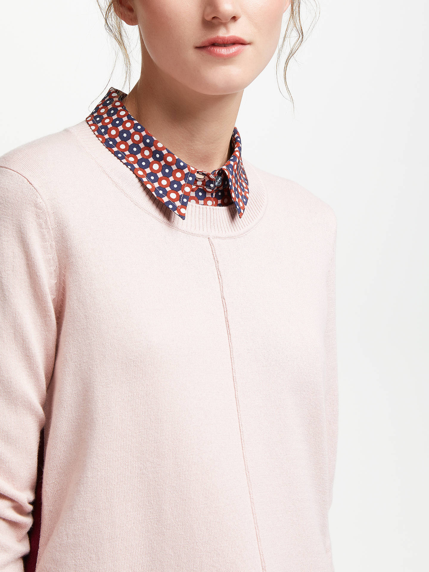 Buy Boden Logan Jumper, Milkshake, L Online at johnlewis.com