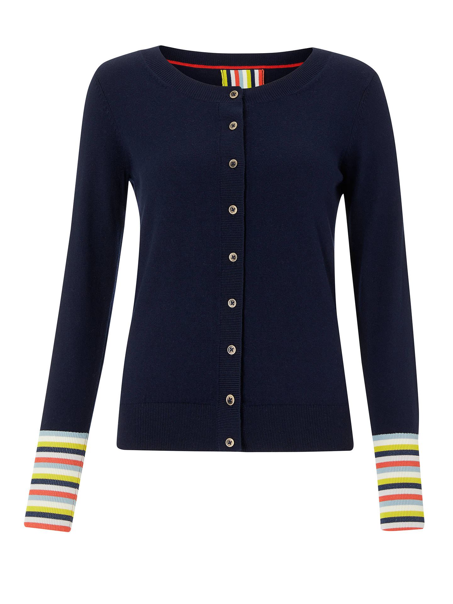 BuyBoden Cassandra Cardigan, Navy, XS Online at johnlewis.com