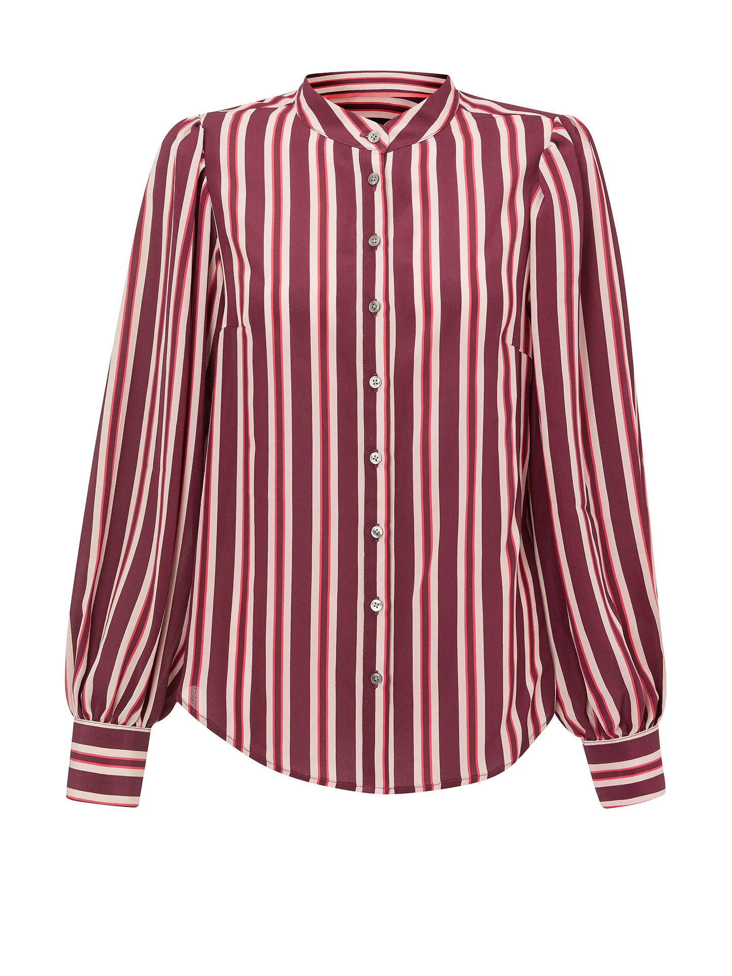 Buy Boden Blouse Silk Shirt, Red, 8 Online at johnlewis.com