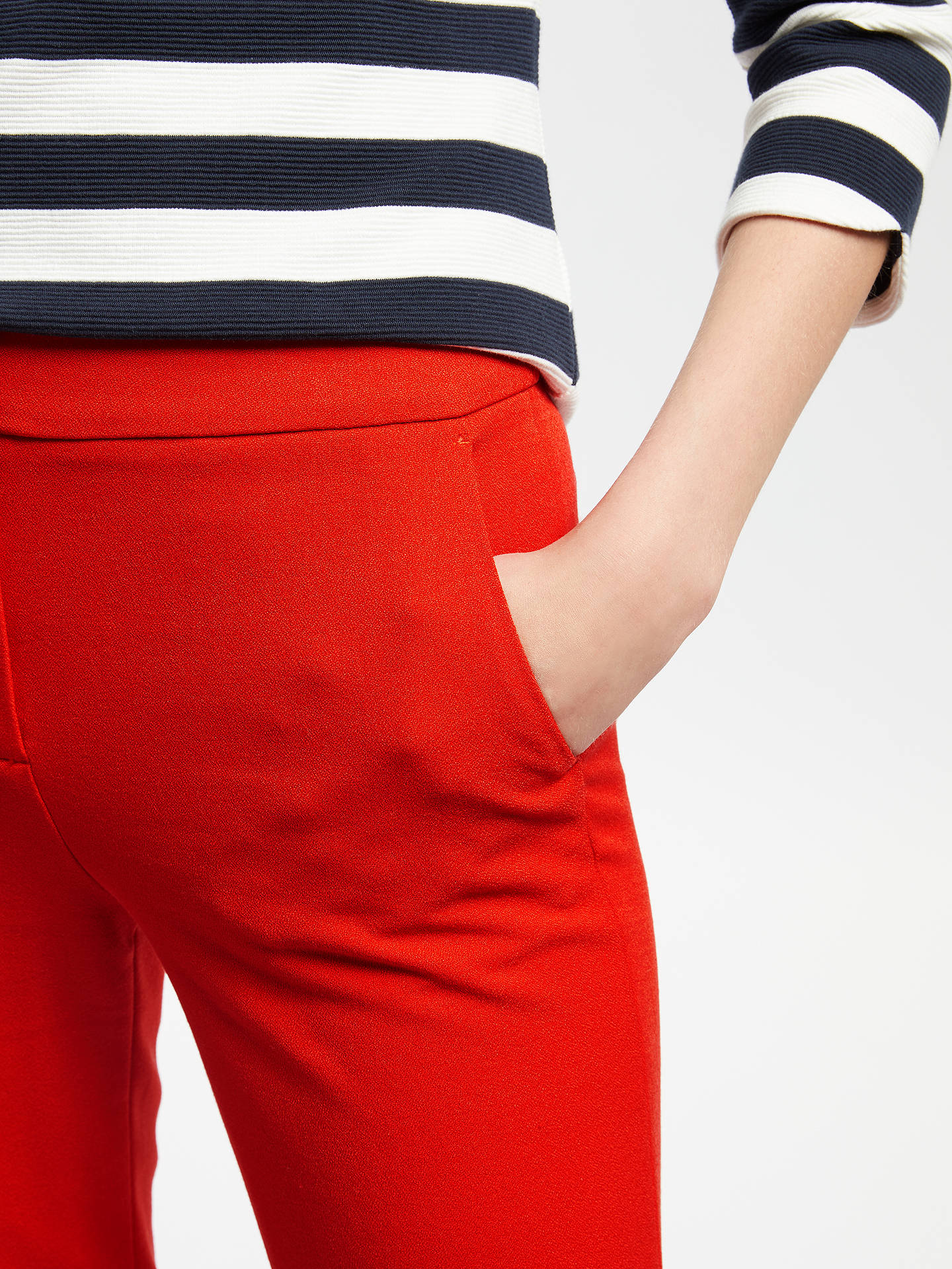 BuyBoden Mayford Trousers, Post Box Red, 16 Online at johnlewis.com