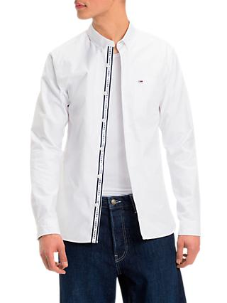 21dc1586d937 Tommy Jeans Tape Detail Shirt
