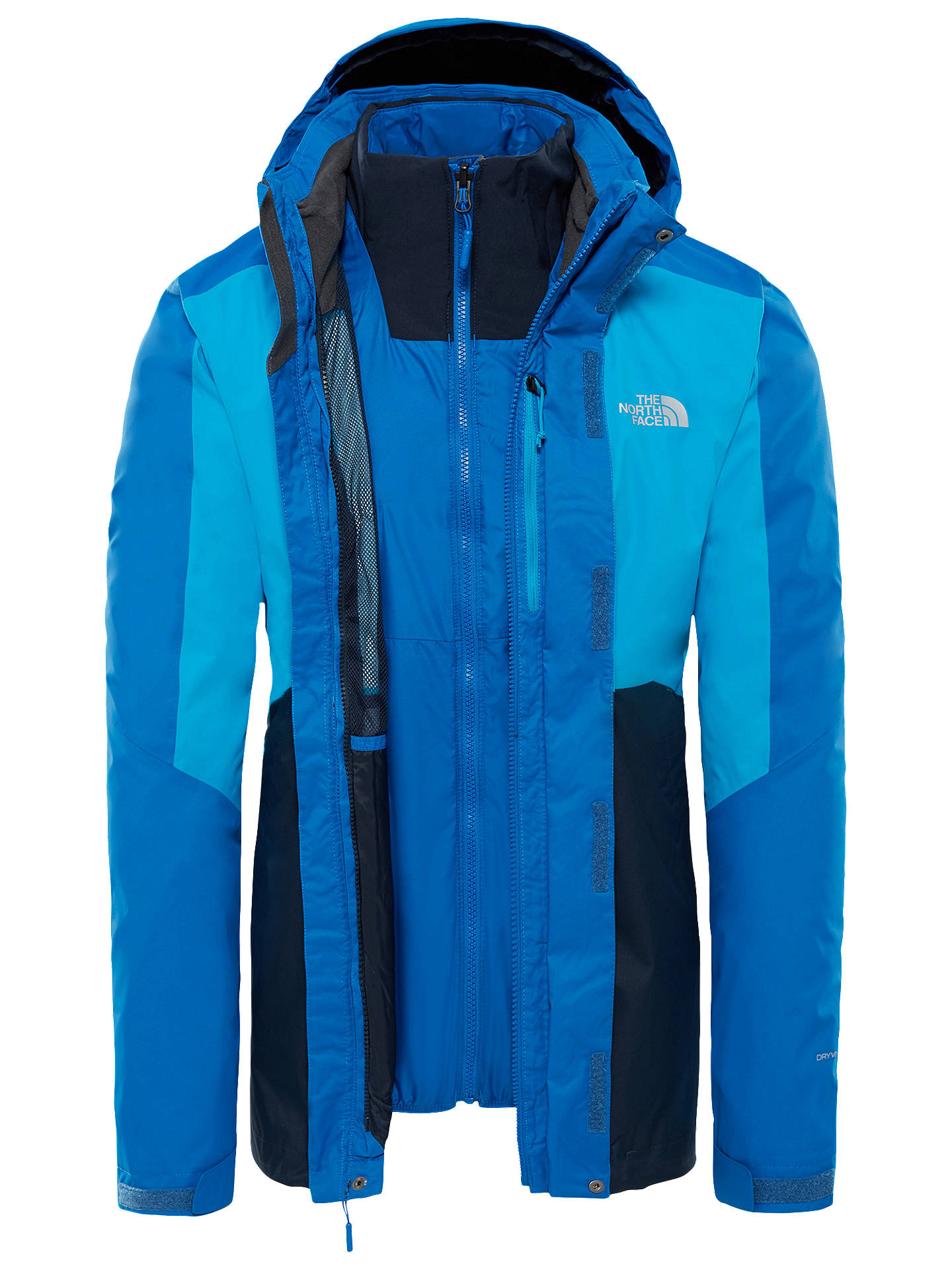 6a1873ee1adf ... hot buythe north face kabru triclimate mens jacket bright blue xl online  at johnlewis. 6c051