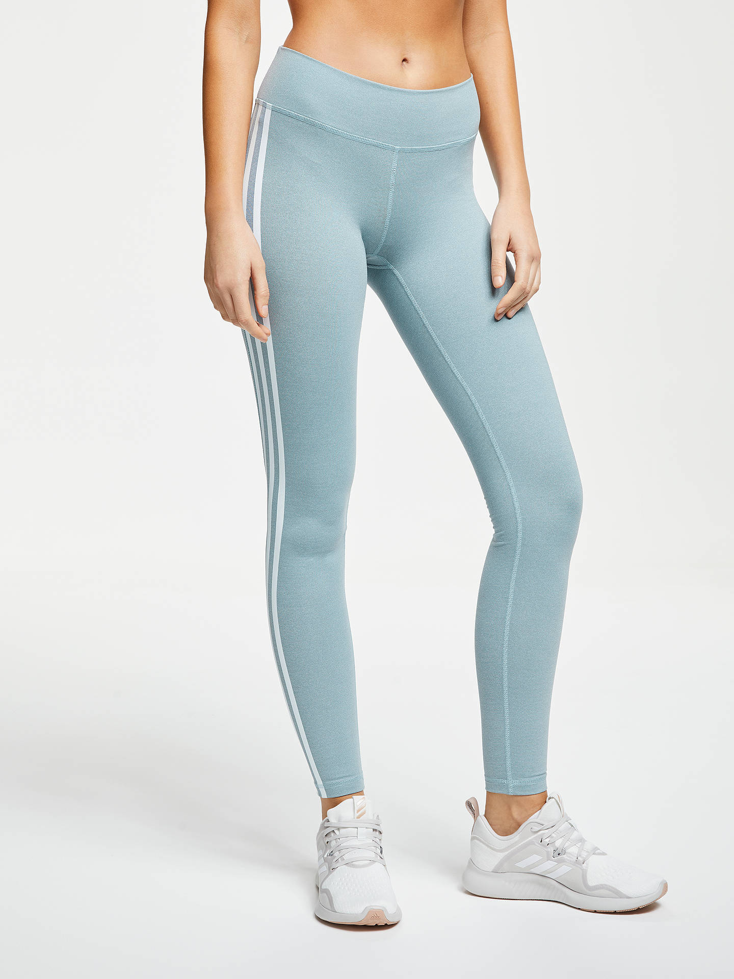 adidas Believe This 3 Stripes Training Tights, Legend Ink