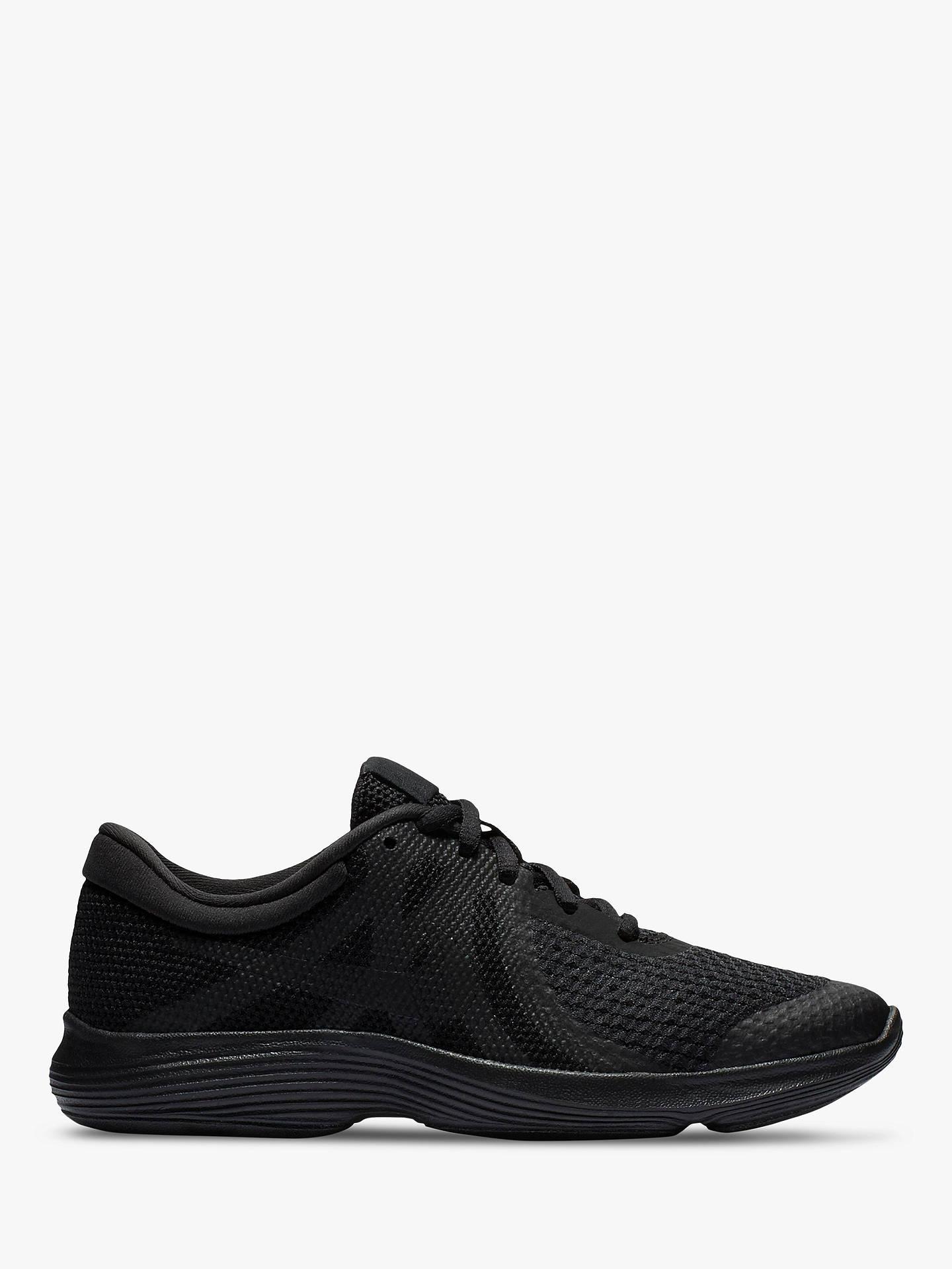 the latest 0e5d5 ea906 Buy Nike Children's Revolution 4 Trainers, Black, 3 Online at johnlewis. ...