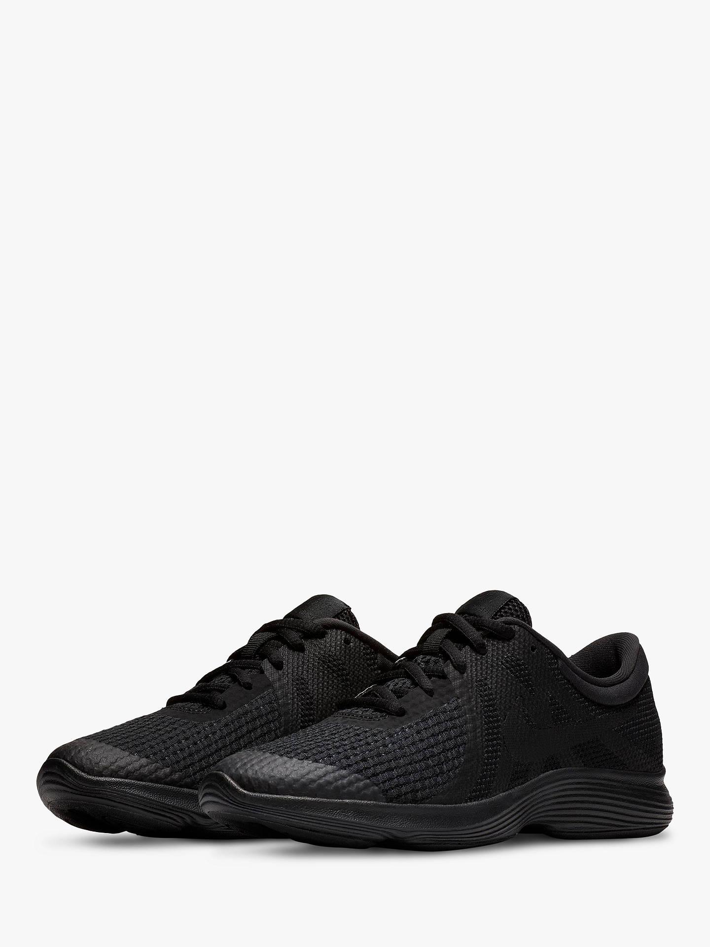 buy popular 9a873 212c6 ... Buy Nike Children s Revolution 4 Trainers, Black, 3 Online at johnlewis. com ...