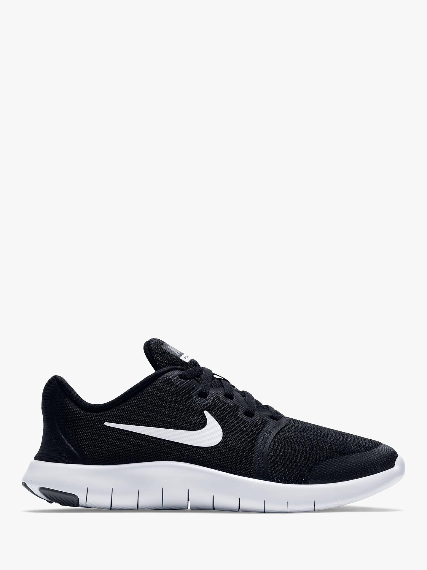 presumir fuga Desear  Nike Children's Flex Contact 2 Trainers, Black/Cool Grey at John Lewis &  Partners