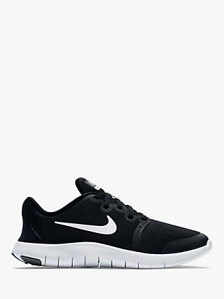 8c59eeed90 Nike Children's Flex Contact 2 Trainers, Black/Cool Grey