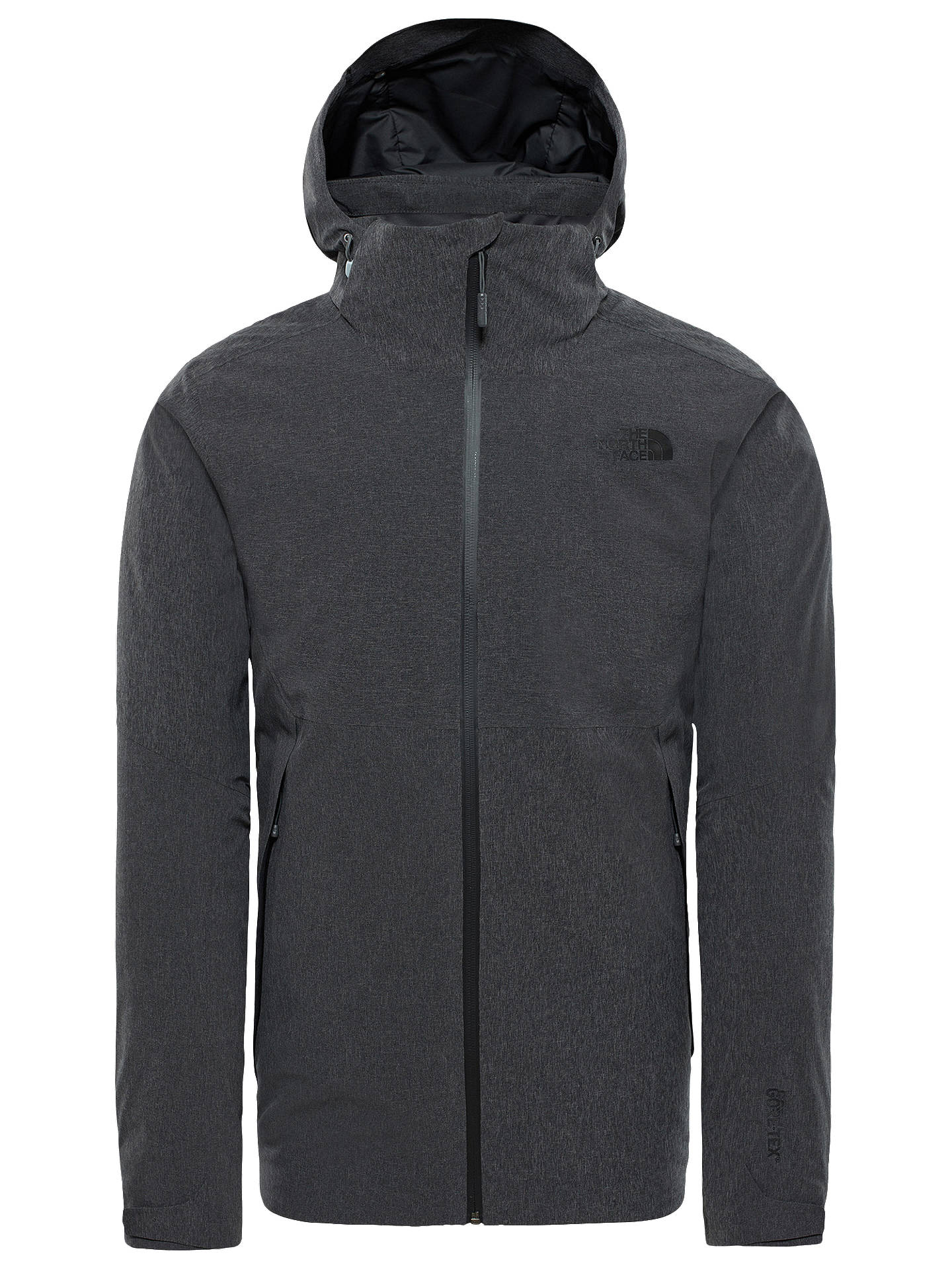 c24849b2a The North Face Insulated Apex Flex GTX Men's Waterproof Jacket, Dark ...