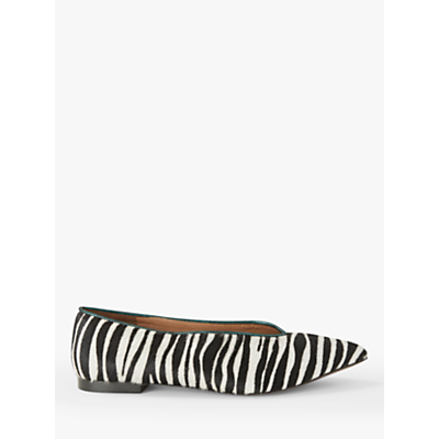 AND/OR Hennie Point Ballet Pumps