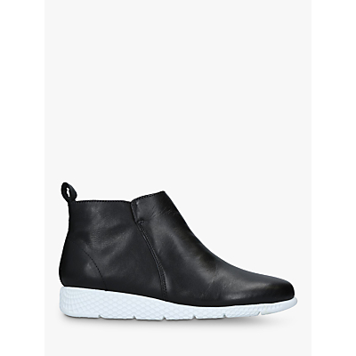 Carvela Comfort Cooper Shoes, Black Leather