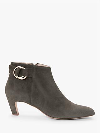 1e922c0e1 Modern Rarity Olexa Kitten Heel Ankle Boots