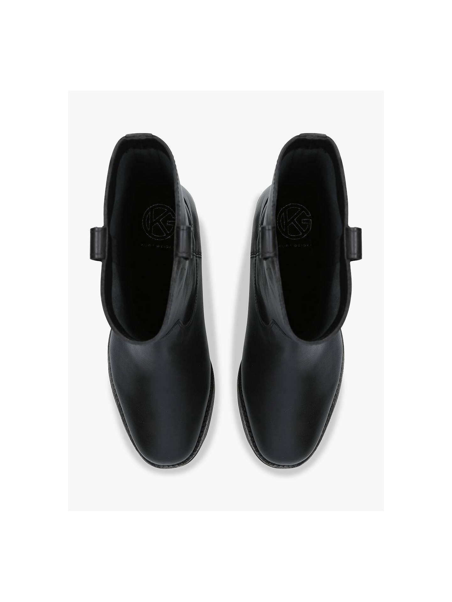 2012a10adac ... Buy KG Kurt Geiger Terry Block Heel Calf Boots