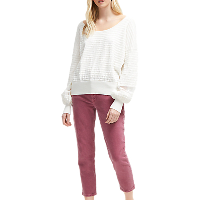French Connection Afreda Jumper, Winter White