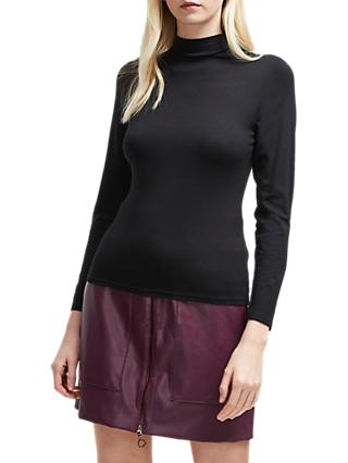 French Connection Fira Slinky Roll Neck Top