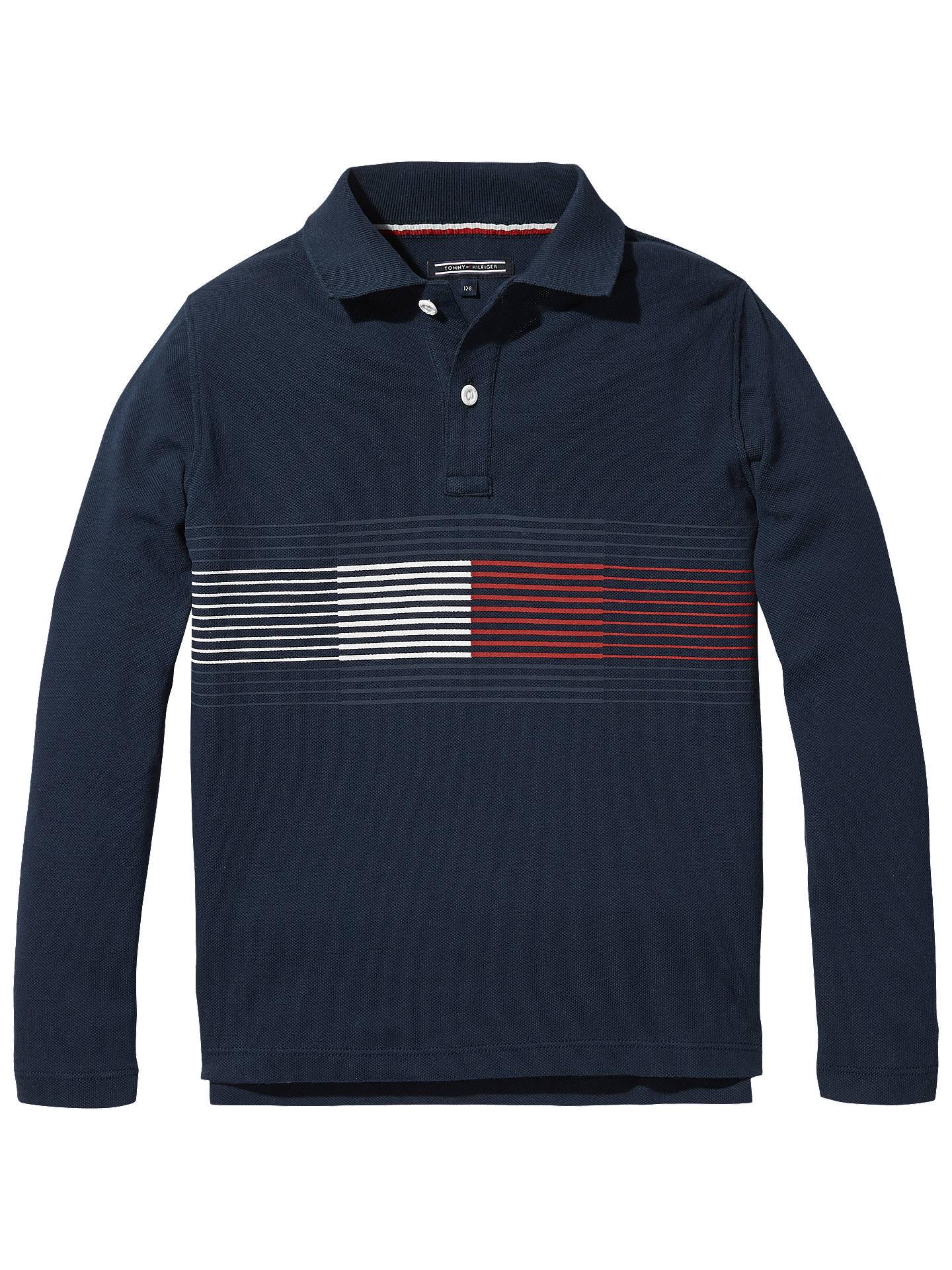 Navy Tommy Hilfiger Tommy Boys Polo Shirt