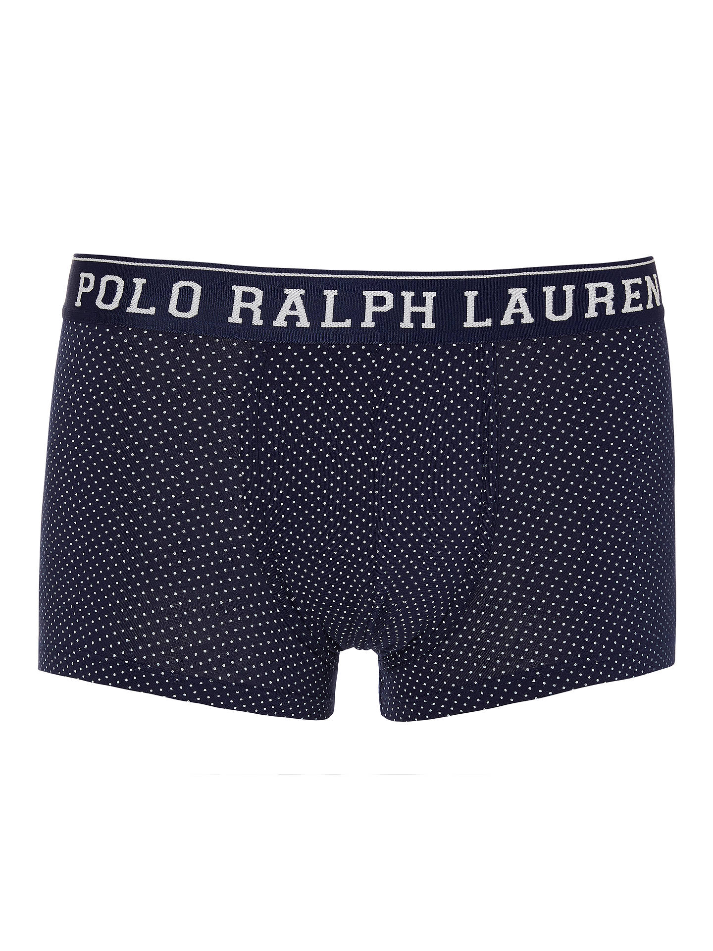BuyPolo Ralph Lauren Cruise Dot Trunks, Navy, M Online at johnlewis.com