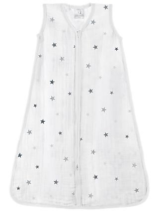 aden + anais Twinkle Sleep Bag, 1 Tog, White