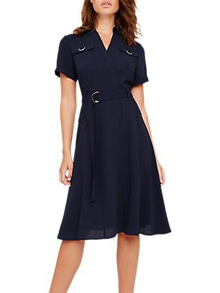 Damsel in a Dress Ennis Trench Dress, Navy