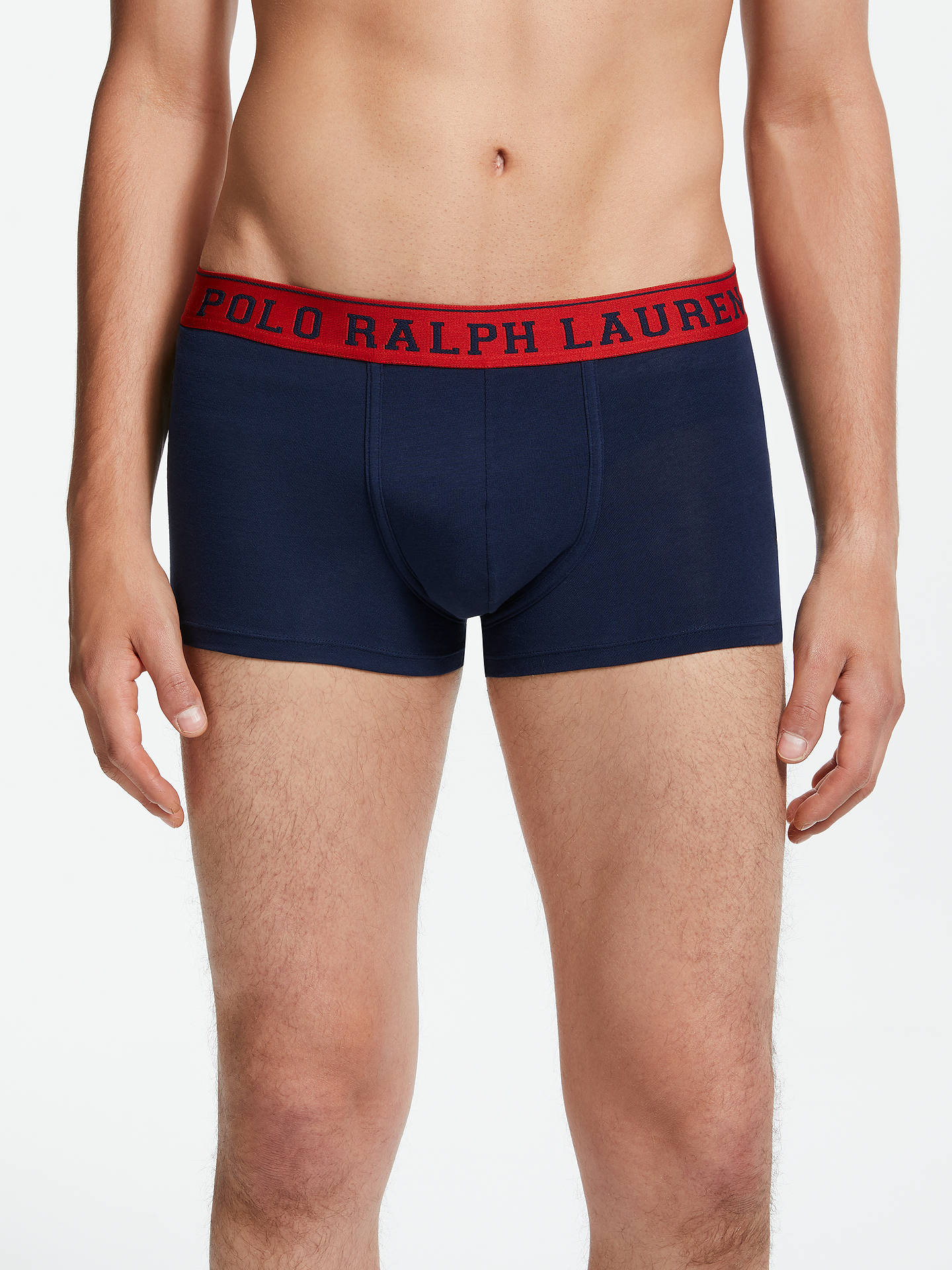 BuyPolo Ralph Lauren Cruise Trunks, Navy, S Online at johnlewis.com