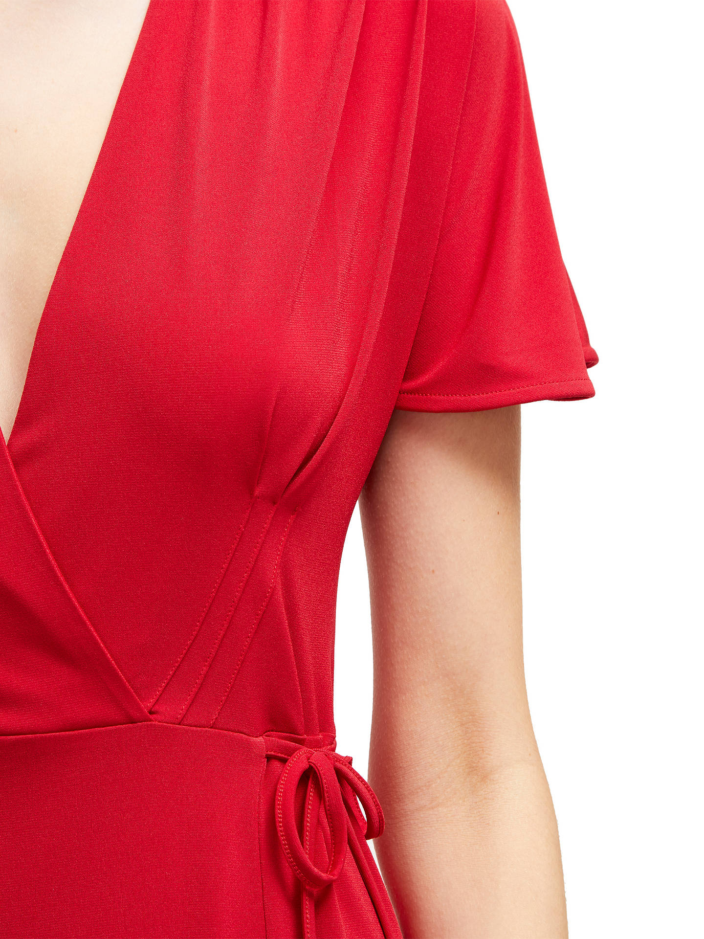 8ce318f2588 Buy French Connection Alexia Crepe Jersey Wrap Dress, Mimosa, 12 Online at  johnlewis.