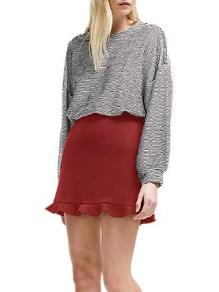 French Connection Frill Mini Skirt