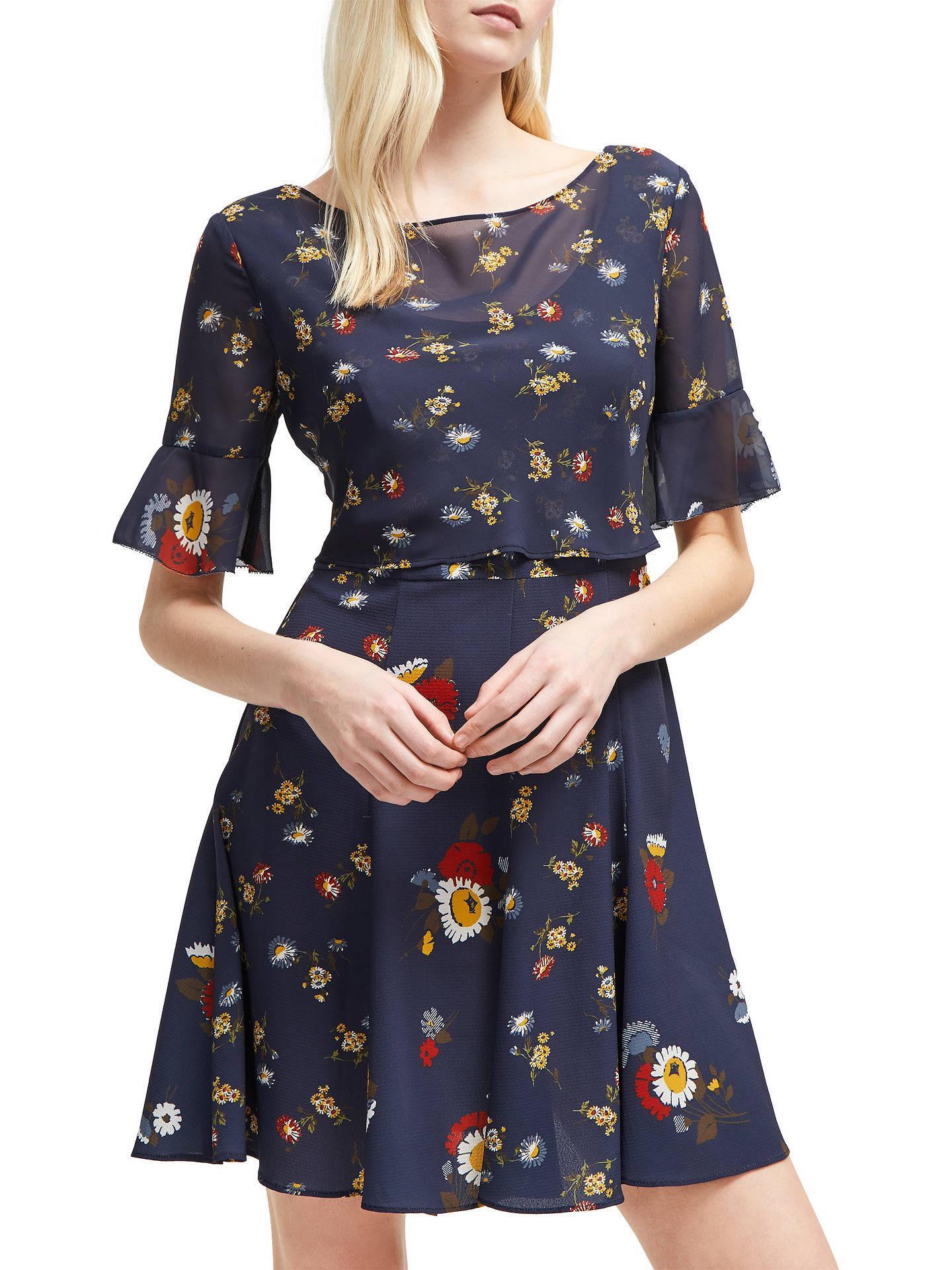 27625fdf7a ... BuyFrench Connection Baudet Print Twist Waist Dress