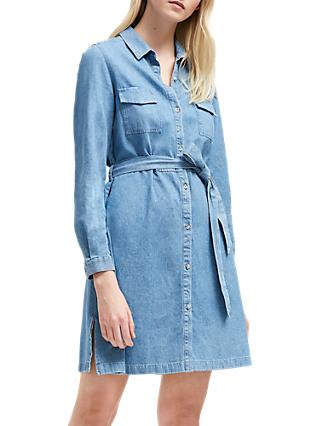 French Connection Shirt Dress, Bleach Blue