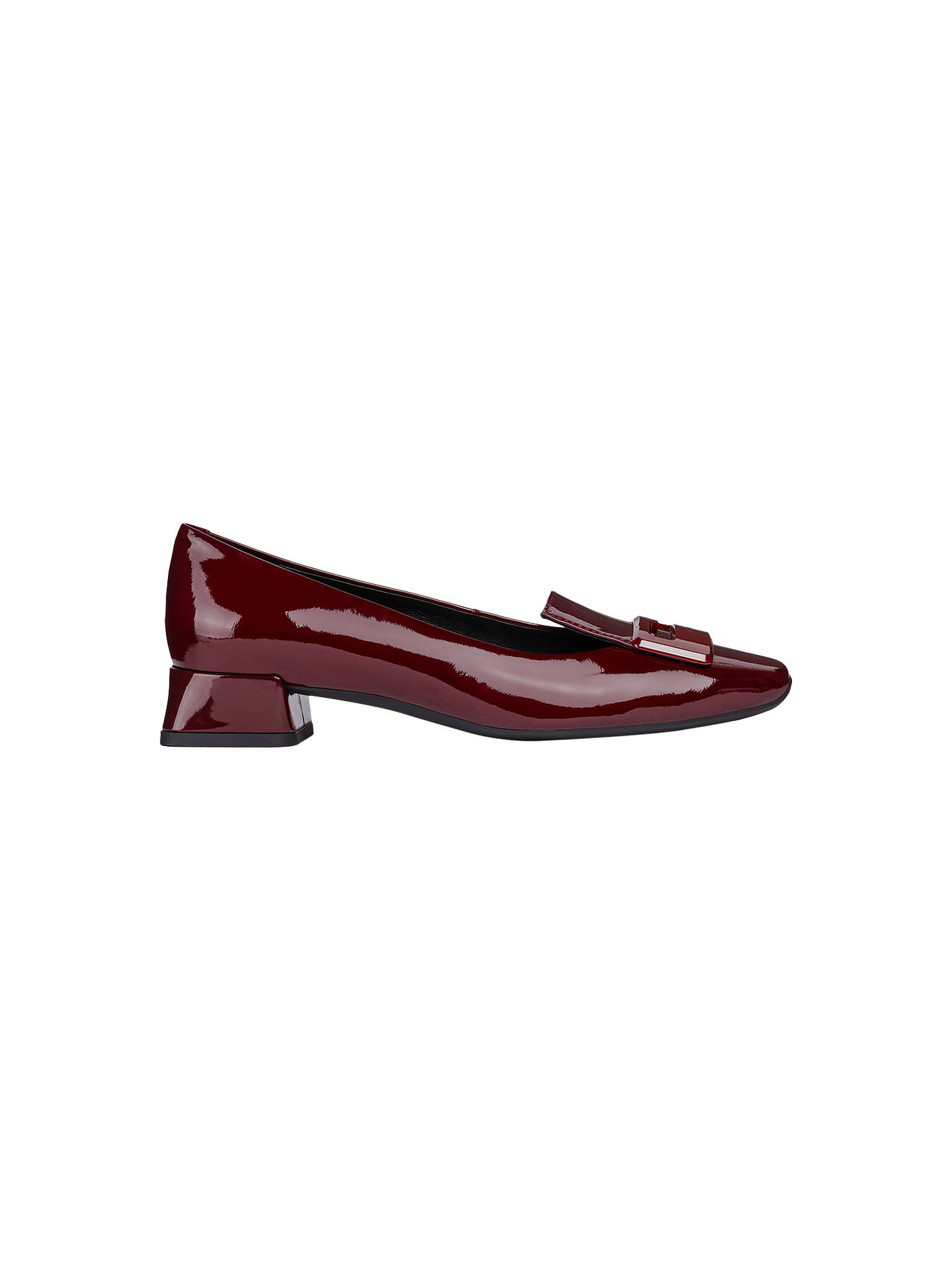 dd8a4026b94 Buy Geox Women's Vivyanne Ballet Pumps, Red Patent Leather, 3 Online at  johnlewis.